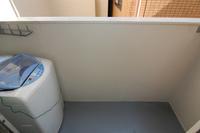 バルコニー:洗濯機は撤去します